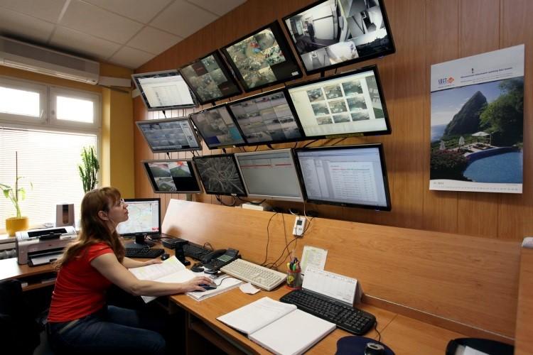 Pult centralizované ochrany - PCO